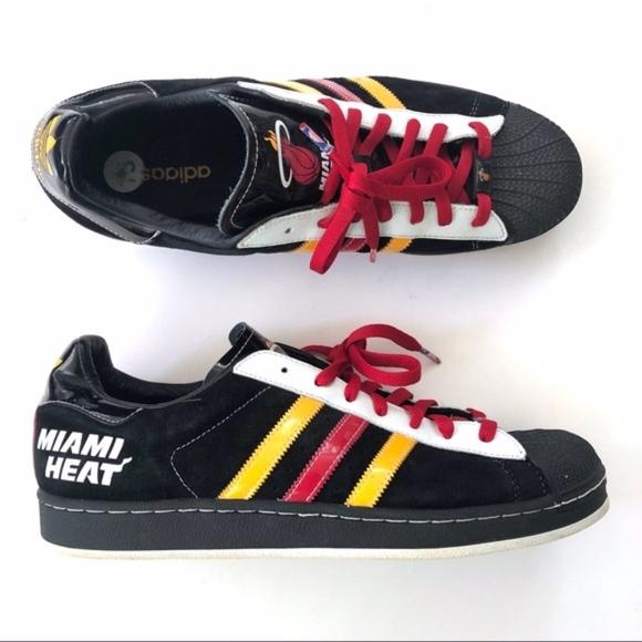 Adidas Superstar Miami Heat Nba Edition